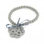 Bracelet Arabesque gris foncé