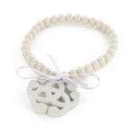 Arabesque bracelet light grey