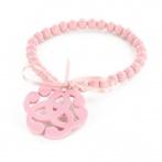 Bracelet Arabesque rose pâle