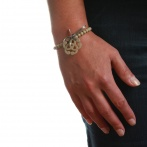 Arabesque bracelet beige Over