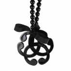 Collier Arabesque noir