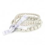 Triple bracelet light grey