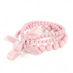 Triple bracelet light pink