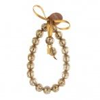 Paillette bracelet gold