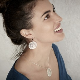 Boucles d'oreilles Dahlia - Amélie Blaise
