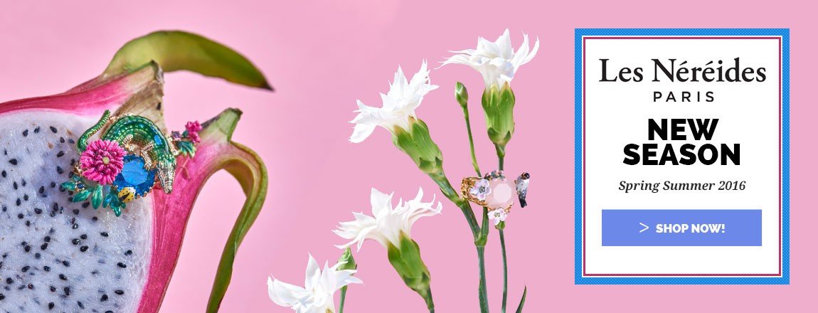 Shop Les Nereides Jewellery New Collection Spring Summer 216