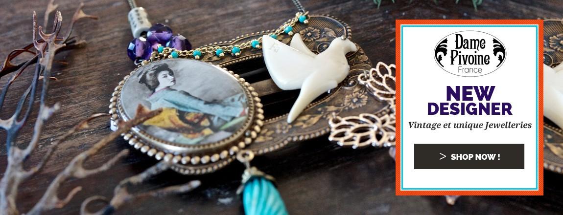 Shop Now Dame Pivoine Jewellery