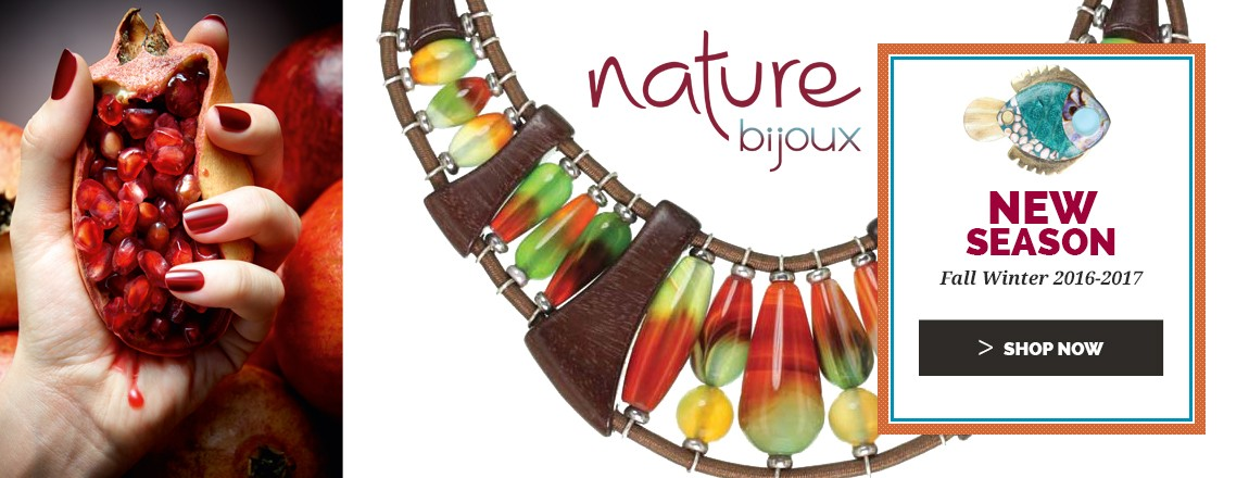 Shop Now the new Fall Winter 2016 2017 Nature Bijoux jewellery Collection