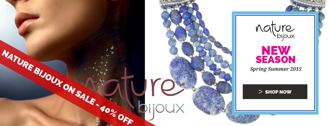 Nature Bijoux on sale : Up to 40% OFF on the summer collection