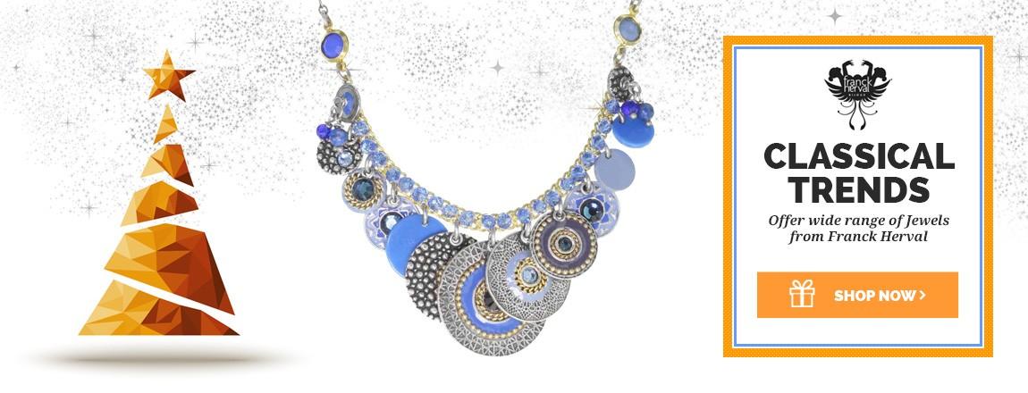 Franck Herval  Jewellery for Christmas