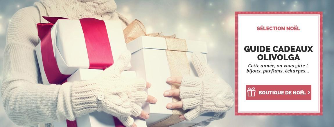 Retrouvez les plus belles idées cadeaux de Noël sur Olivolga