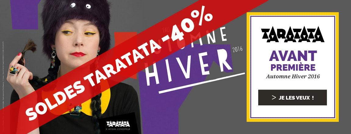 SOLDES Taratata Bijoux : -40% sur la collection Hiver 2016