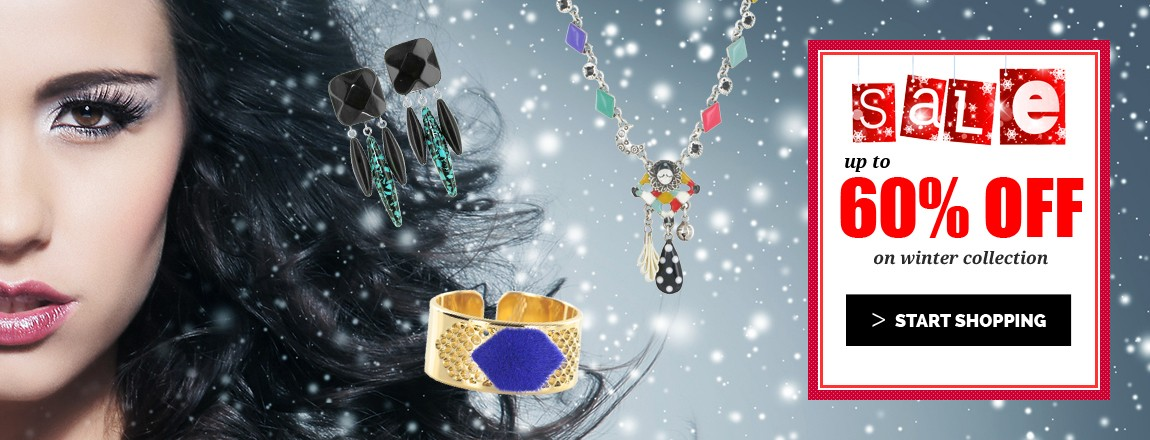 Up to 60% OFF on Winter Jewellery Collection