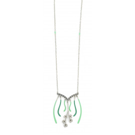 Colored long necklace Herbes folles - Amélie Blaise