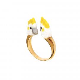 Cockatoo facetoface ring Cantando - Nach