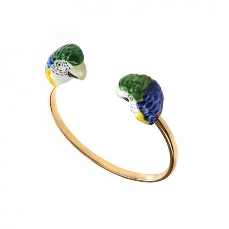 Blue parrot facetoface bracelet Cancun