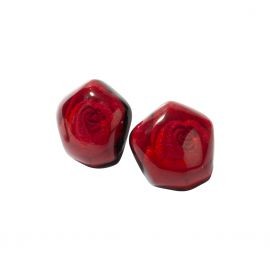 Pink earrings Frida rose - Zsiska