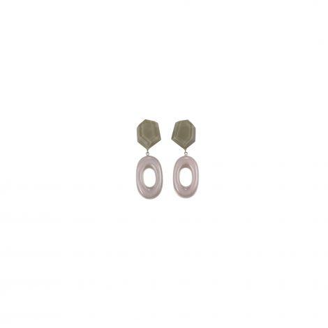 2 beads earrings Chorus