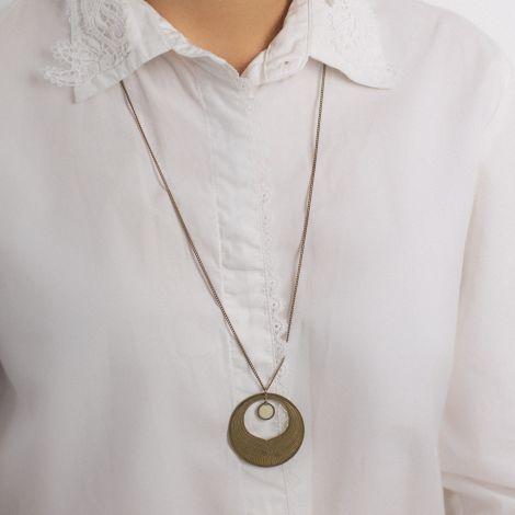Pearly Camélia long necklace Les classiques