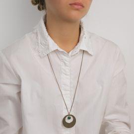 Emerald Camélia long necklace Les classiques - Amélie Blaise