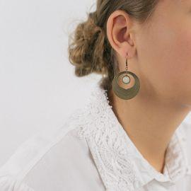 Pearly Camélia earrings Les classiques - Amélie Blaise