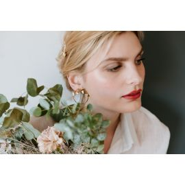 Olympe snow earrings - Grizzly Chéri