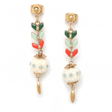 Earrings Les inseparables