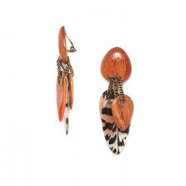Boucles Clips Amherst - Nature Bijoux