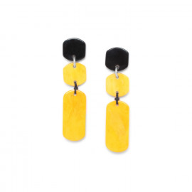 Earrings Black mango - Nature Bijoux