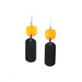Boucles Black mango - Nature Bijoux