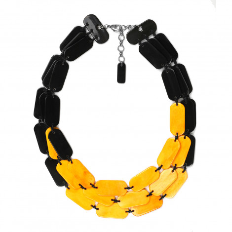Necklace Black mango