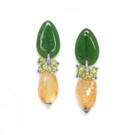 Boucles Citrus - Nature Bijoux