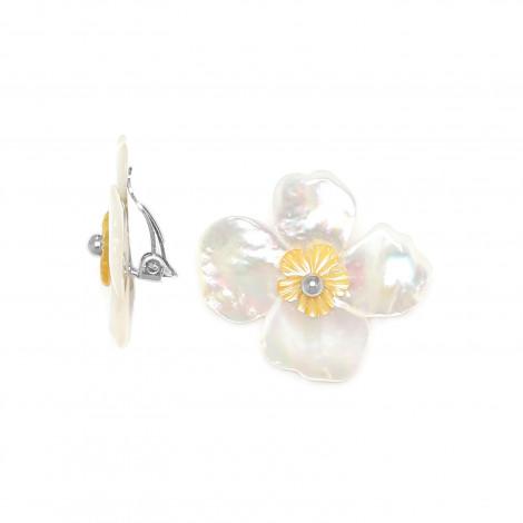 Clips Fleurs de nacre