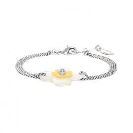 Bracelet Fleurs de nacre - Nature Bijoux
