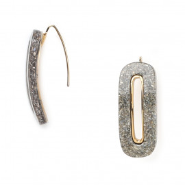 Earrings Granite - Ori Tao