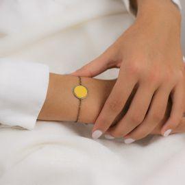 Yellow Soleil bracelet Les classiques - Amélie Blaise