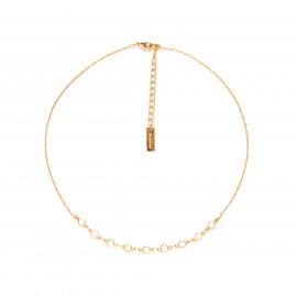 CONFETTIS short necklace/ecru Confettis - Olivolga