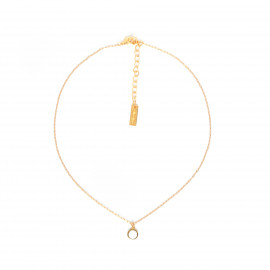 CONFETTIS simple necklace/ecru Confettis - Olivolga