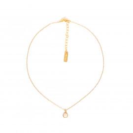CONFETTIS simple necklace/peach Confettis - Olivolga