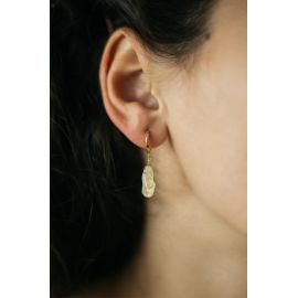 SOUVENIR boucle d'oreilles citrine Souvenir - Olivolga Bijoux