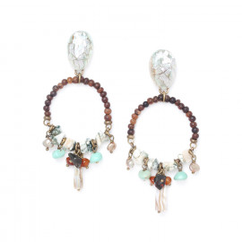 Earrings Forest therapy - Nature Bijoux
