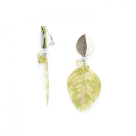 Boucles Clips Herboriste - Nature Bijoux