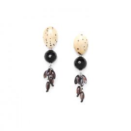 Boucles Serval - Nature Bijoux