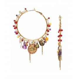 Earrings Louisa - Franck Herval
