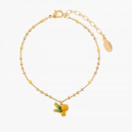 Bracelet pendentif mimosa 40 souvenirs -
