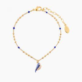 Bracelet pendentif oiseau bleu 40 souvenirs -
