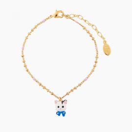 Bracelet pendentif chat 40 souvenirs -