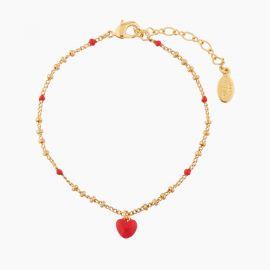 Bracelet pendentif cœur 40 souvenirs -