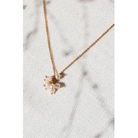 Collier pompon perle Divine - Olivolga
