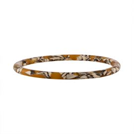 Thin Bangle in Calico - Machete